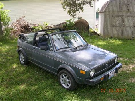 best car repair manuals 1985 volkswagen cabriolet security system buy used 1985 volkswagen cabriolet convertible in smithton illinois united states for us