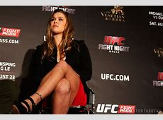 Interview Ronda Rousey says Gina Carano is 'insisting on