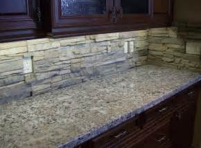 rock kitchen backsplash kitchen backsplash home design ideas