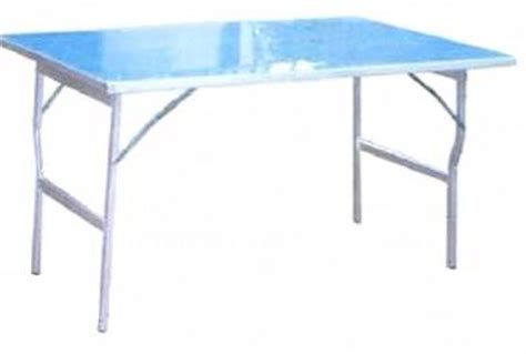 table alu pliante forain table de lit