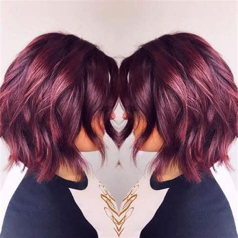 burgundy hair color ideas   yummy wine