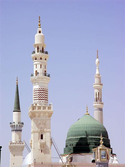 Wallpaper Prophet Mosque by Prophet Muhammad Mosque Medina Saudi Arabia The