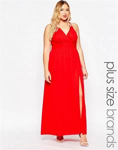 robes longues grande taille asos curve sort le grand jeu With robe rouge grande taille