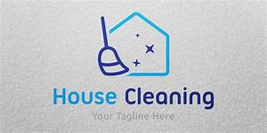 House Cleaning Logo Template - Building Logo Templates ...