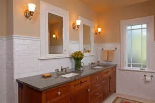 bungalow bathroom ideas st paul bungalow remodel craftsman bathroom minneapolis by david heide design studio