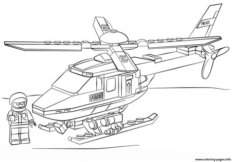 Lego City Coloring Pictures Coloring Page