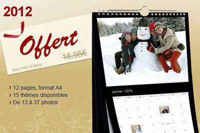 photobox frais de port gratuit calendrier 2012 gratuit sur photobox hors frais de port de 4 90