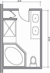 bathroom floor plan Small Bathroom Floor Plan Dimensions for small Space Images – Small Room Decorating Ideas
