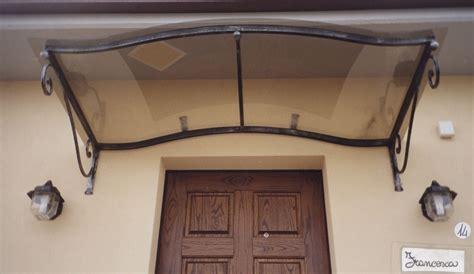 tettoie in ferro e policarbonato tettoie e pensiline in ferro battuto
