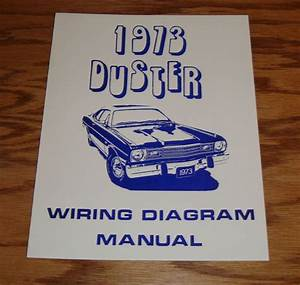 1973 Plymouth Duster Wiring Diagram Manual 73