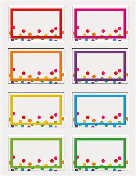 name tag template free printable everyday rainbow printables free