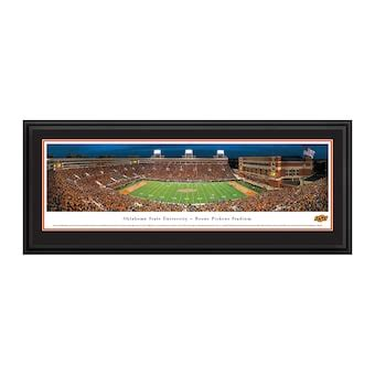 oklahoma state cowboys     zone deluxe framed