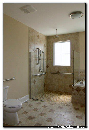 Handicapped Accessible Bathroom Designs by Accessible Bathroom Shower Design Ideas Wheelchair