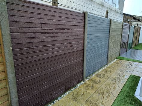 composite wood fencing products kents direct supplier of upvc fascias soffits guttering etc