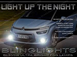 2014 2015 2016 Citroen Grand C4 Picasso Fog Lamp Driving