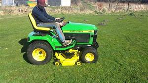 John Deere 455 Ride On Mower 11  03  2014