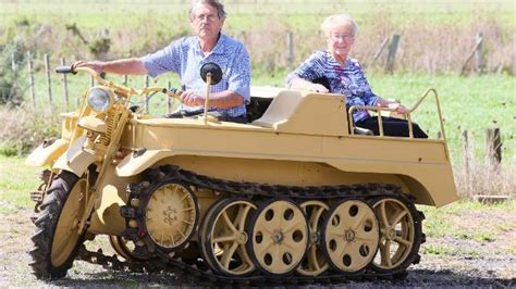 Rare Military Vehicle Back On The Road