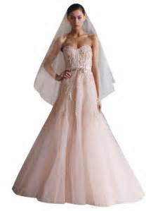 pink wedding gowns blush pink gowns the dress trend for and brides guest post wedding by