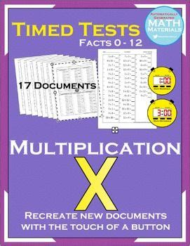 25 best ideas about multiplication timed test on pinterest multiplication test