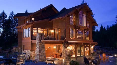 idaho mountain style home mountain architects hendricks