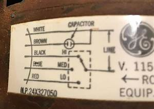 Hvac - Where Does The Extra Wire Connect On My New Furnace Blower Motor