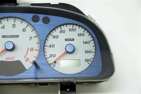 Jdm Subaru Wrx Sti Gc8 Type Ra Gauge Cluster With Dccd
