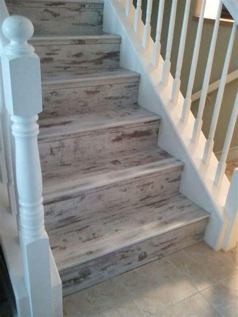 vinyl plank flooring stairs pinterest the world s catalog of ideas