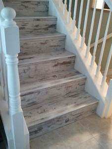 Pinterest o the worlds catalog of ideas for How to install vinyl plank flooring on stairs