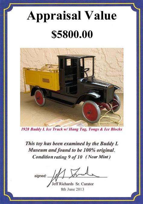 antique buddy l truck for sale buddy l museum