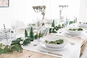 Tischdekoration Zu Weihnachten : minimalistische tischdeko f r weihnachten ~ Michelbontemps.com Haus und Dekorationen