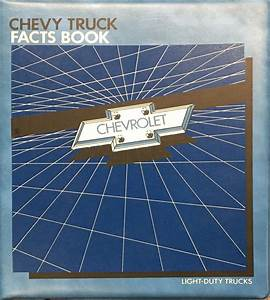 1985 Chevy Truck Repair Shop Manual Original Pickup Blazer