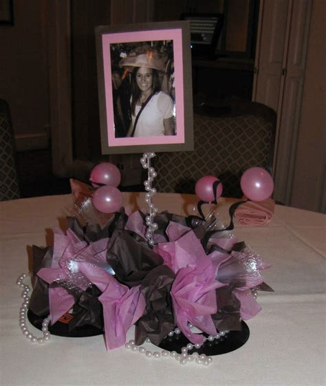 Sweet Table Vases by Event Decorating Company Sweet 16 At The