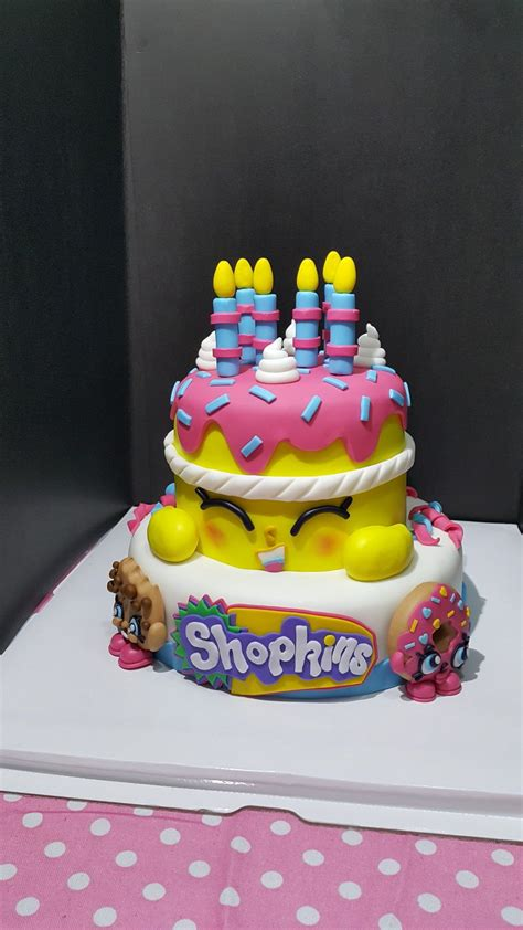 shopkins cake shopkins party ideas pinterest
