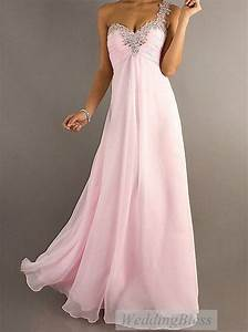 Light Pink/Pale Pink Chiffon Long Prom Dress A-line ...