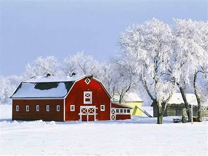 Farm Desktop Winter Wallpapers Backgrounds Wallpaperaccess