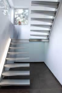 Escalier En Beton Quart Tournant by Escalier Suspendu 2 Quarts Tournant Divinox