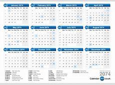 Calendar 2074