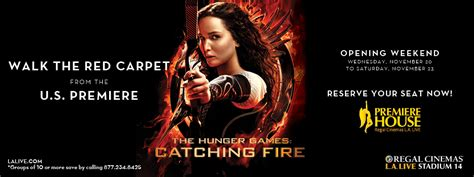 Conga Room La Live Calendar by The Hunger Games Catching Fire Red Carpet Experience