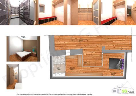 plan chambre dressing description du projet with plan chambre salle de bain dressing