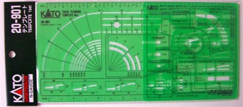 train toy kato  gauge track templates  layout