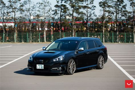 subaru cars black subaru legacy wagon vossen wheels cars black wallpaper