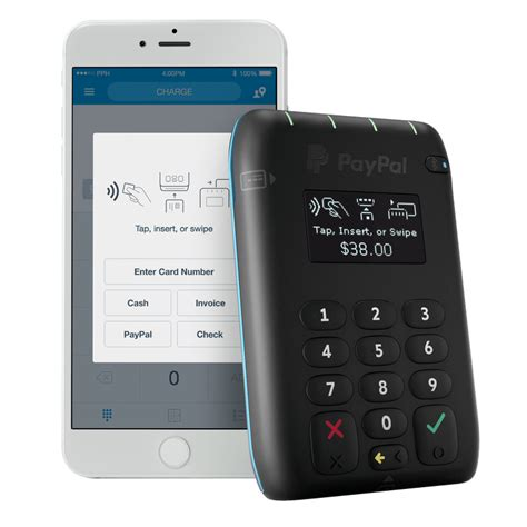paypal mobile pay paypal here launches a mobile card reader that accepts