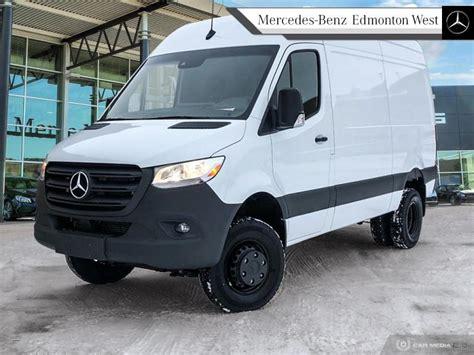 """Complete the form below to get a quick response. New 2019 Mercedes Benz Sprinter Cargo Van 3500XD High Roof V6 144"""" 4x4 Van in Edmonton, Alberta"""