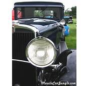 1930 Nash Eight Headlight