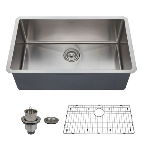 how to install kitchen faucet with undermount sink best single bowl kitchen sink reviews buying guide bkfh 9771