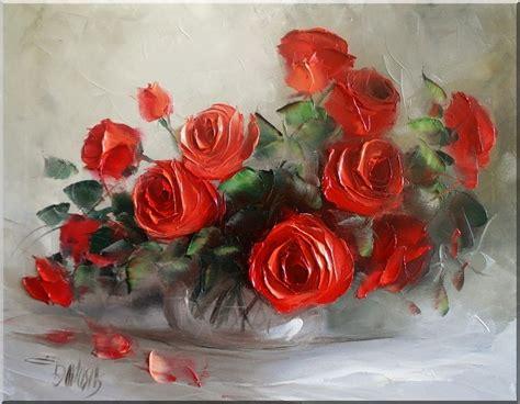 imagenes arte pinturas cuadros decorativos increibles pinturas flores rojas