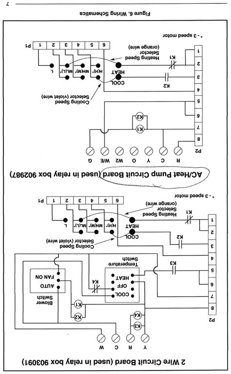 Nordyne Thermostat Wiring Diagram Free