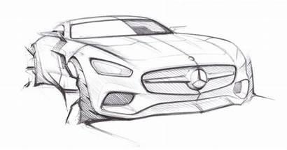 Mercedes Amg Official Gt Sketch