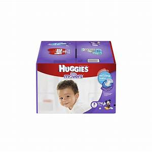 Huggies Diapers Size 3 Little Movers 174 Count NEW | eBay