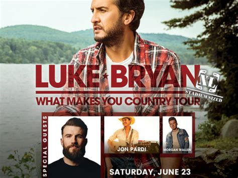 Tampa 4th Stop On Luke Bryan's 'what Makes You Country